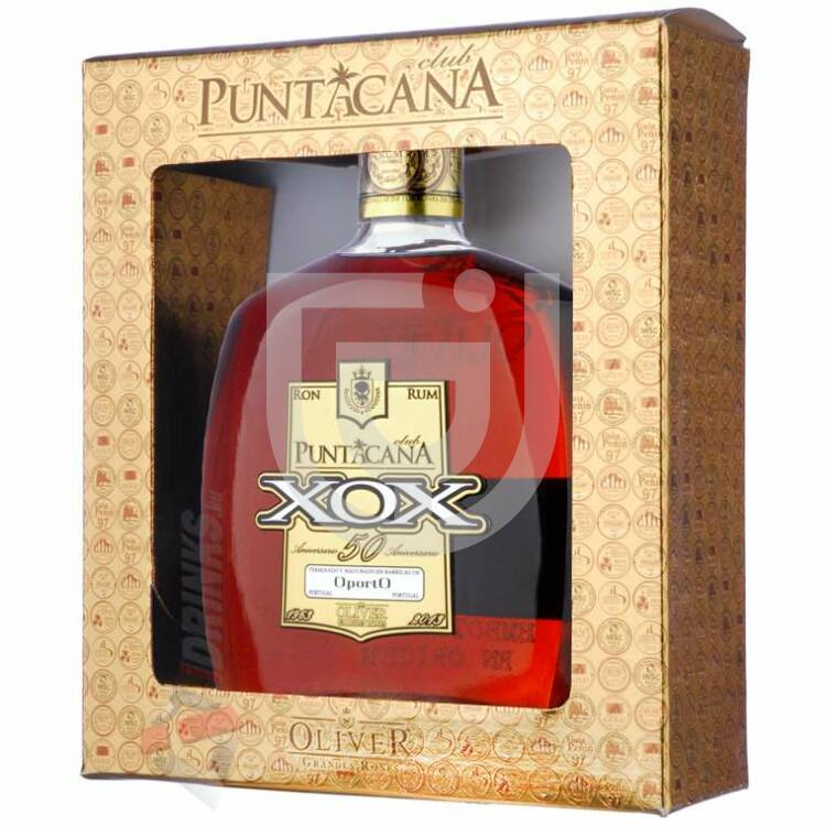 Puntacana XOX 50 Aniversario Rum [0,7L|40%]