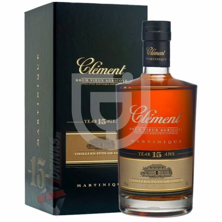 Rhum Clement 15 Years Rum [0,7L 42%]