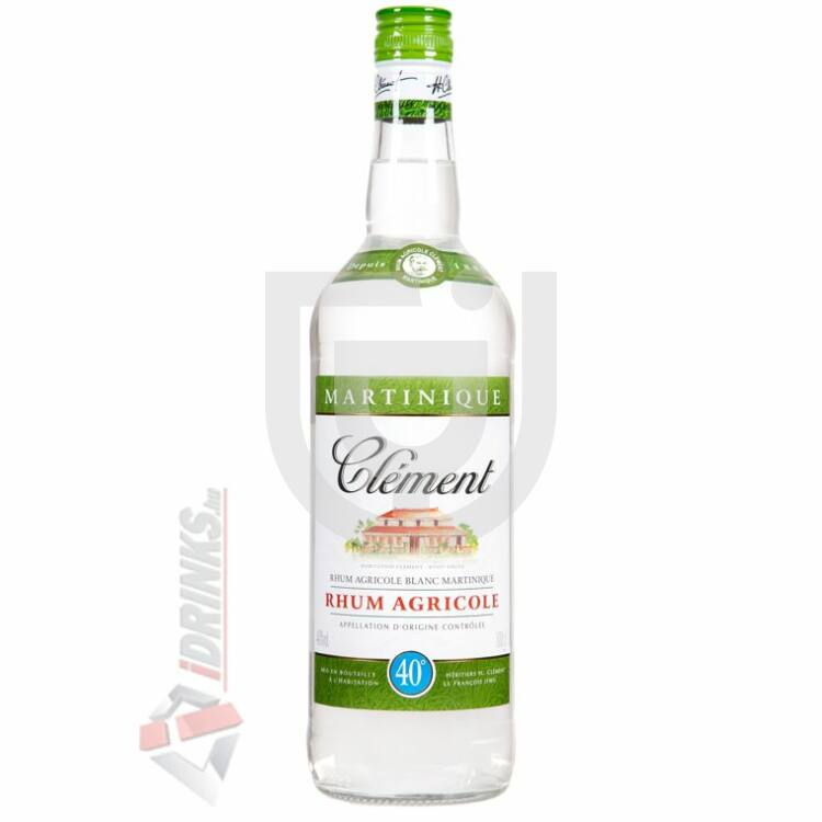 Rhum Clement Blanc Rum [1L|40%]