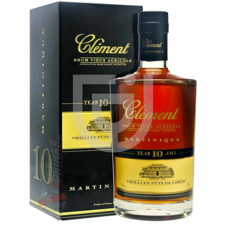 Rhum Clement Single Cask 10 Years Rum [0,5L|42,8%]