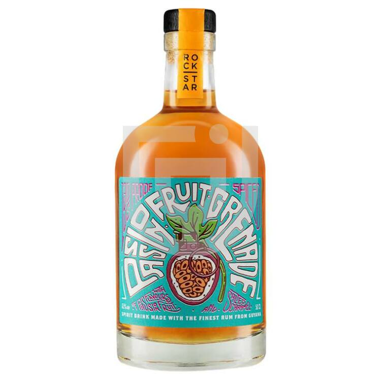 Rockstar Passionfruit Grenade Overproof Spiced Rum [0,5L|65%]