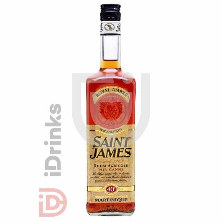Saint James Royal Ambré Rum [0,7L|40%]
