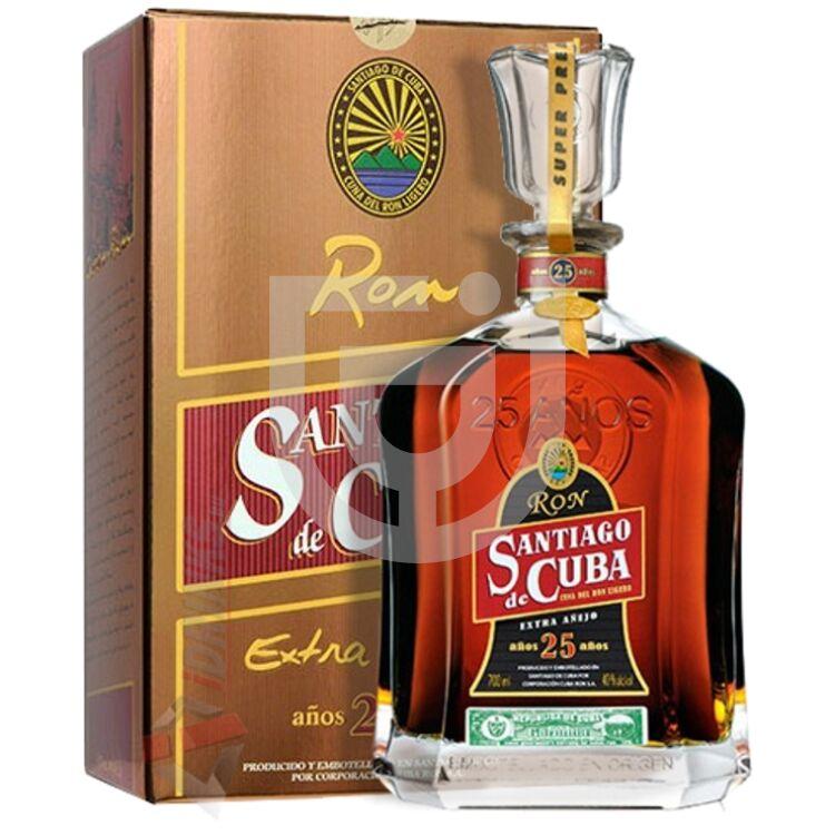 Santiago de Cuba Extra Anejo 25 Years Rum [0,7L|40%]