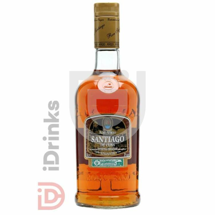 Santiago de Cuba Anejo Rum [0,7L|38%]