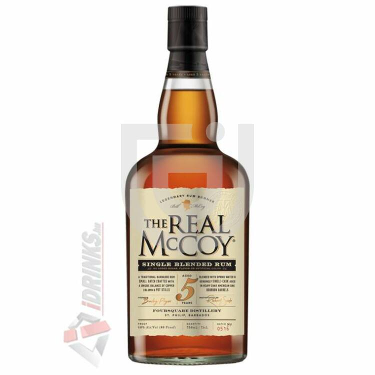 The Real McCoy 5 Years Rum [0,7L|40%]