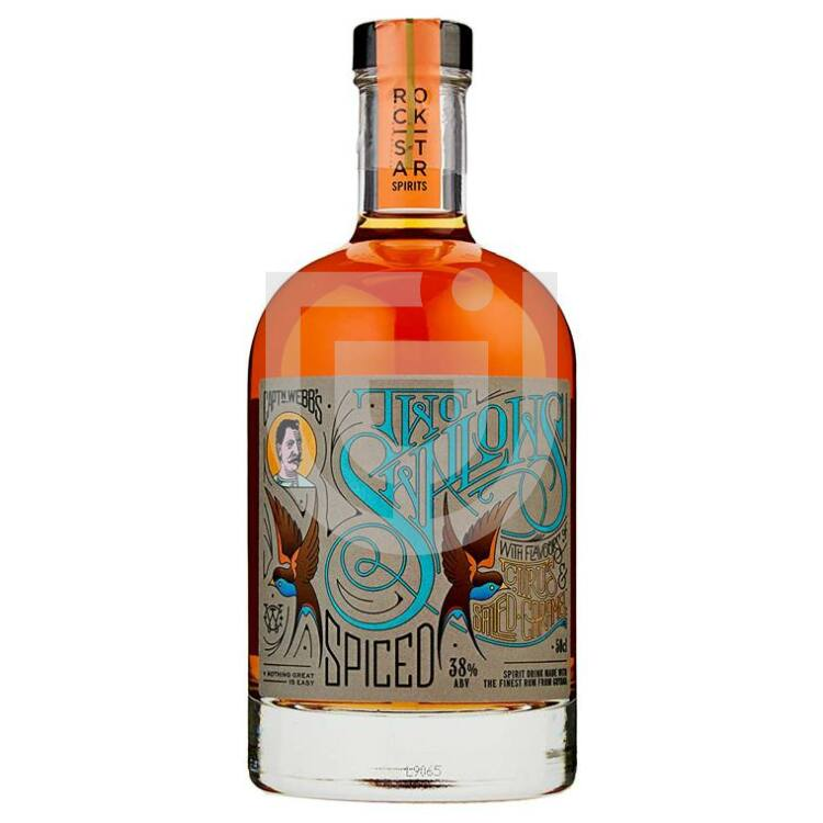 Rockstar Two Swallows Spiced Citrus Salted Caramel Spiced [0,5L 38%]