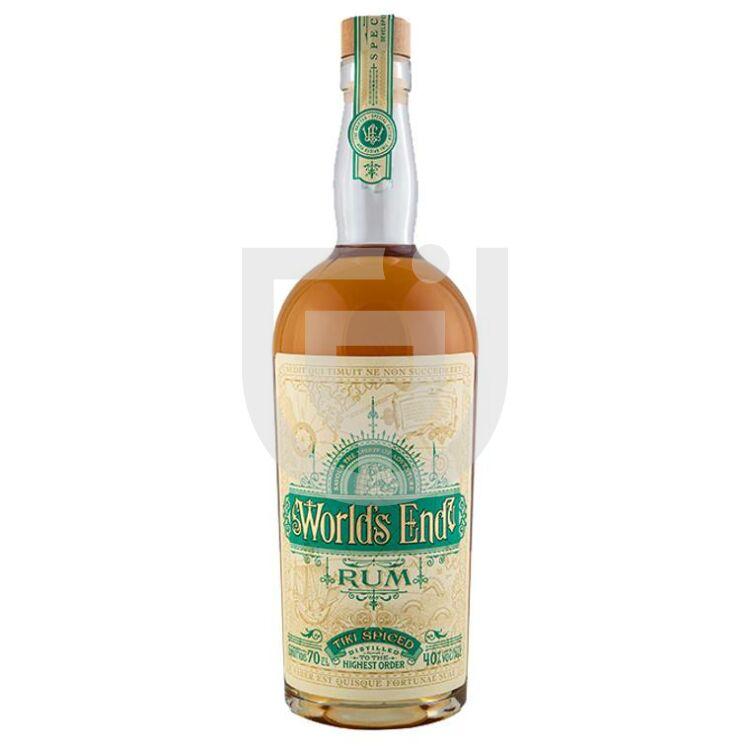 Worlds End Tiki Spiced Rum [0,7L 40%]