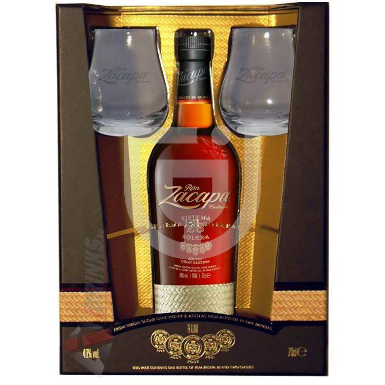 Zacapa Centenario 23 Rum (PDD + 2 Pohár) [0,7L|40%]