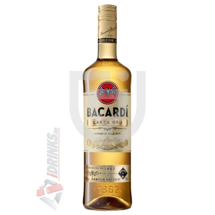 Bacardi Carta Oro /Gold/ Rum [0,7L|37,5%]