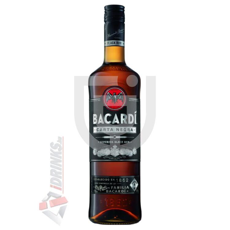 Bacardi Carta Negra /Black/ Rum [0,7L|37,5%]