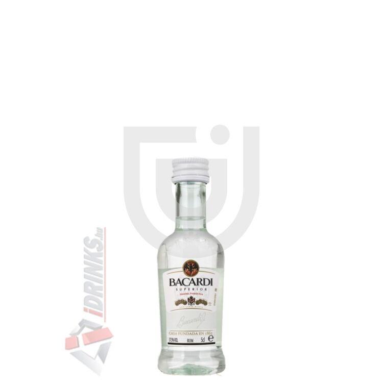 Bacardi Carta Blanca Superior Rum Mini [0,05L 40%]