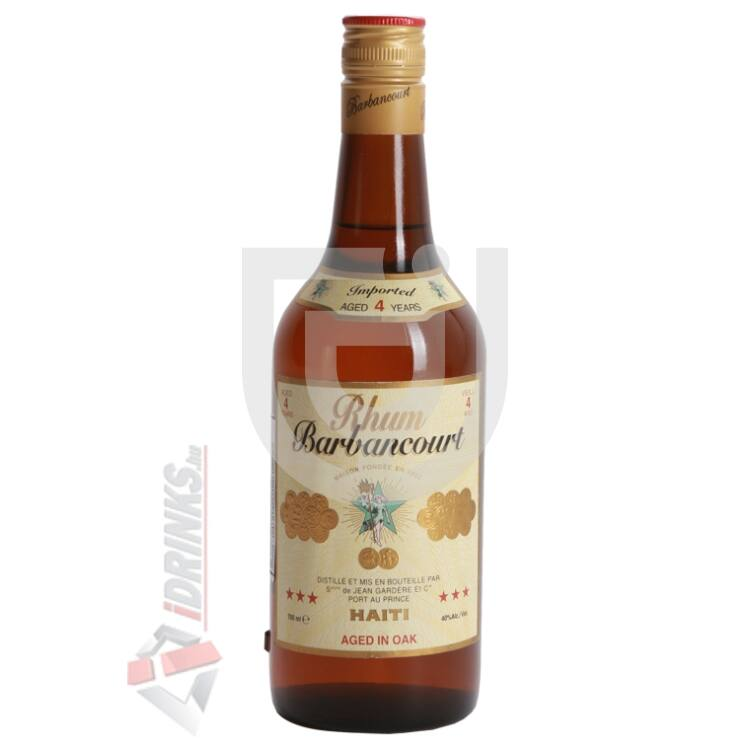 Barbancourt 4 Years Rum [0,7L|40%]
