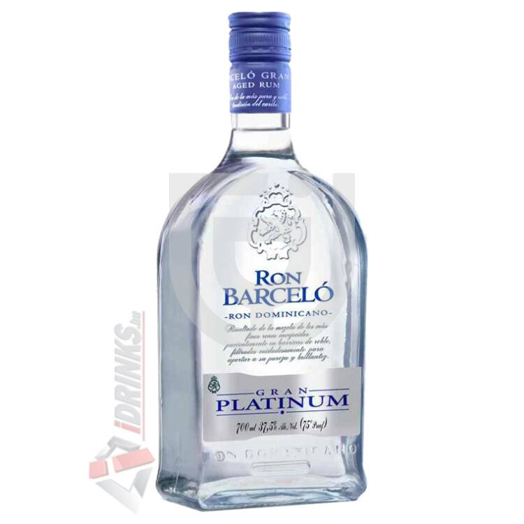 Barcelo Gran Platinum Rum [0,7L 37,5%]