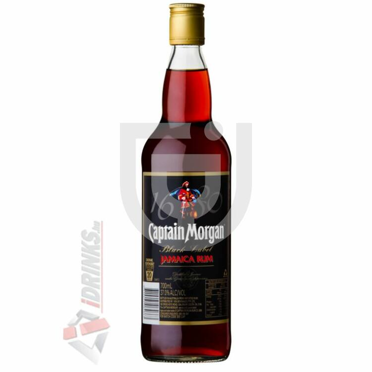Captain Morgan Black Rum [0,7L|40%]