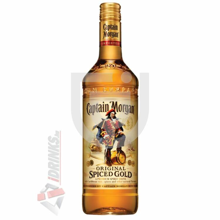 Captain Morgan Spiced Gold Rum [0,7L|35%]