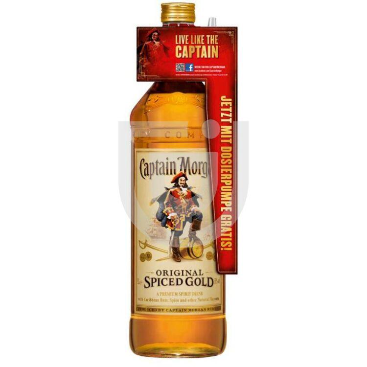 Captain Morgan Spiced Gold Rum (+Ajándék pumpa) [3L|35%]