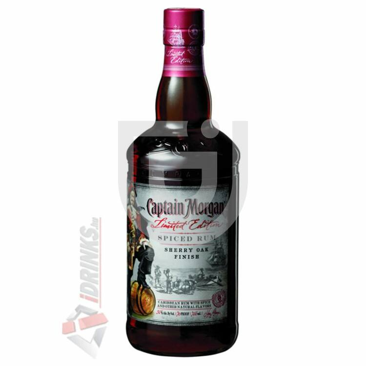 Captain Morgan Spiced Sherry Oak Finish Rum [0,75L|35%]