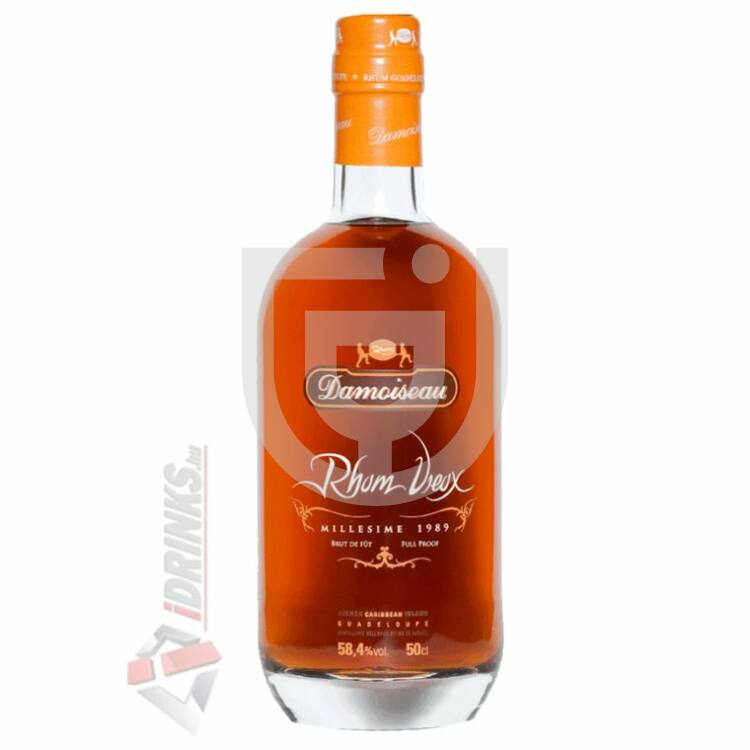 Damoiseau Full Proof 1989 Rum (DD) [0,5L|58,4%]