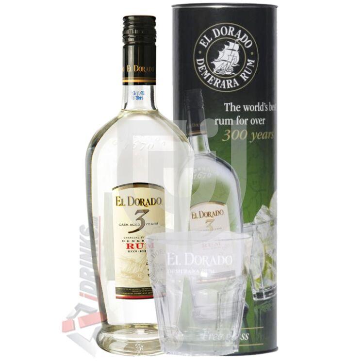 El Dorado 3 Years Rum (DD + 1 Pohár) [0,7L|40%]