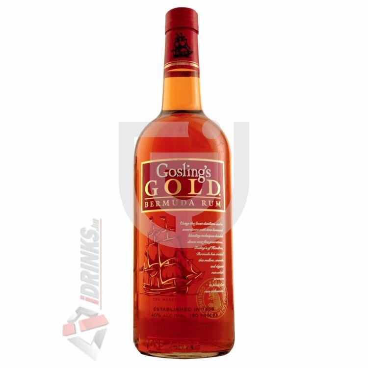 Goslings Gold Bermuda Rum [0,7L|40%]