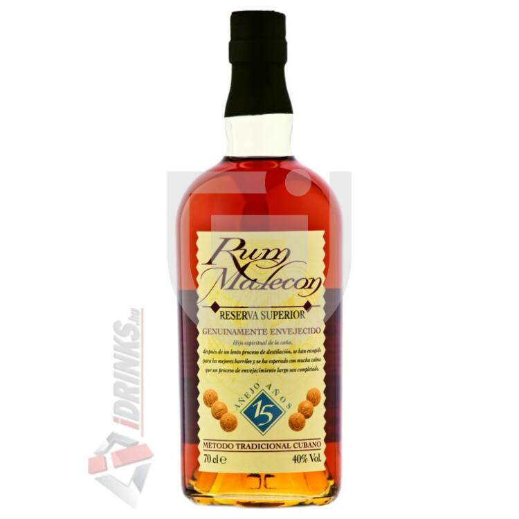 Malecon 15 Years Rum [0,7L 40%]