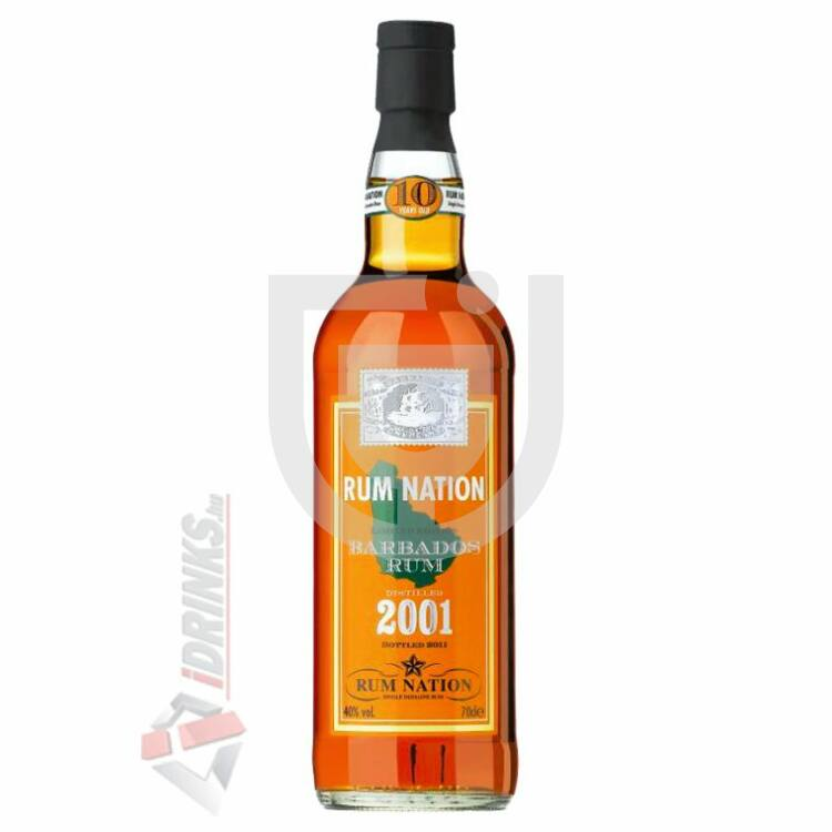 Rum Nation Barbados 10 Years Rum [0,7L|40%]