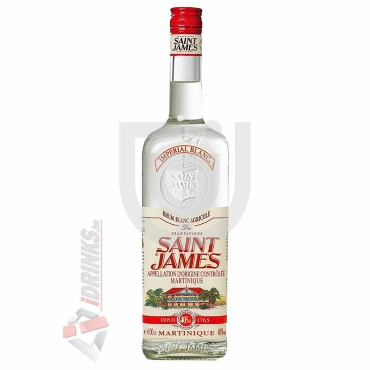 Saint James Imperial Blanc Rum [1L|40%]
