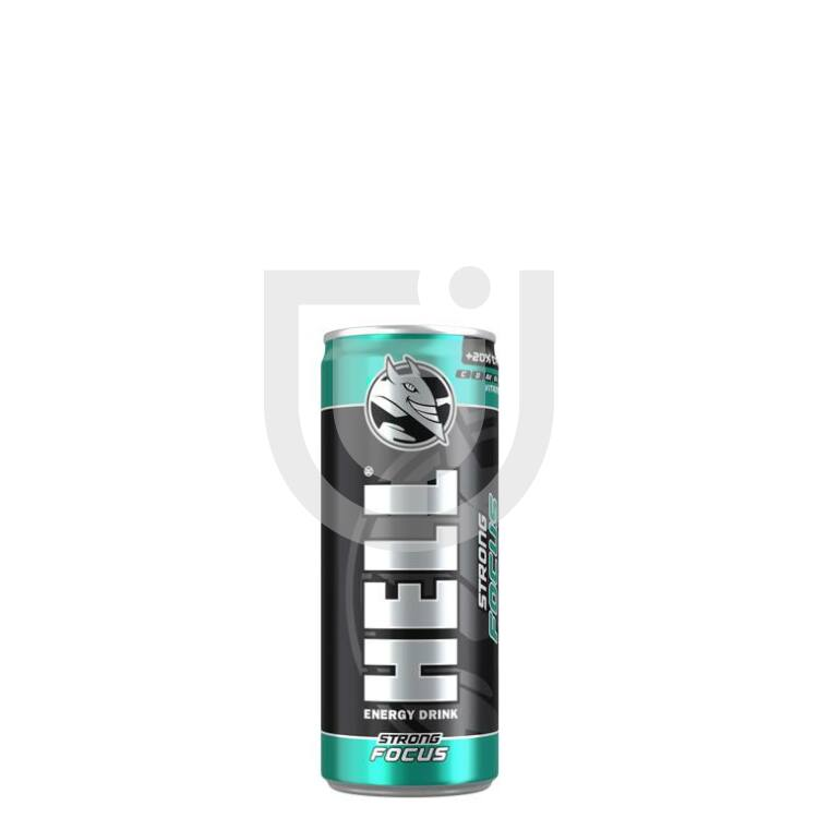 Hell Strong Focus Energiaital /Dobozos/ [0,25L] [12db/pack]
