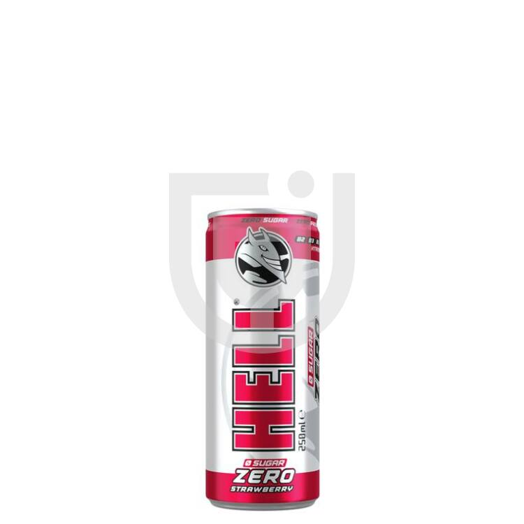 Hell Zero Eper Energiaital /Dobozos/ [0,25L] [12db/pack]