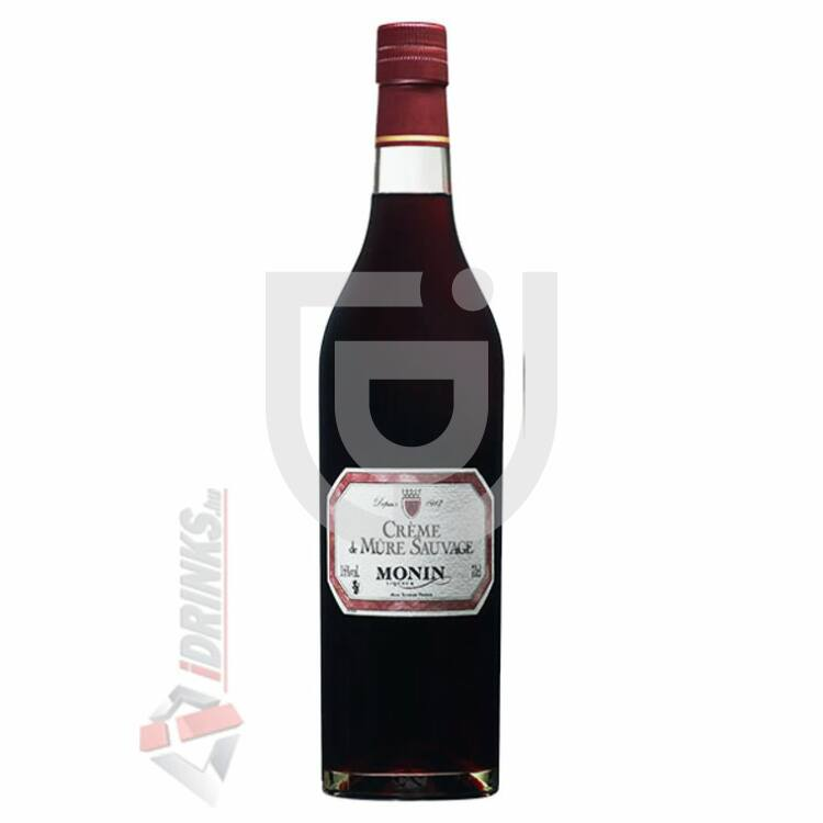 Monin Wild Blackberry Cream /Vadszeder/ Likőr [0,7L|16%]