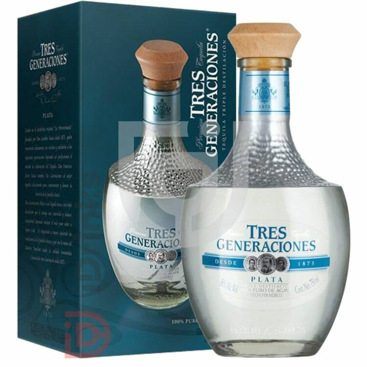 Sauza Tres Generaciones Tequila Plata [0,7L|38%]