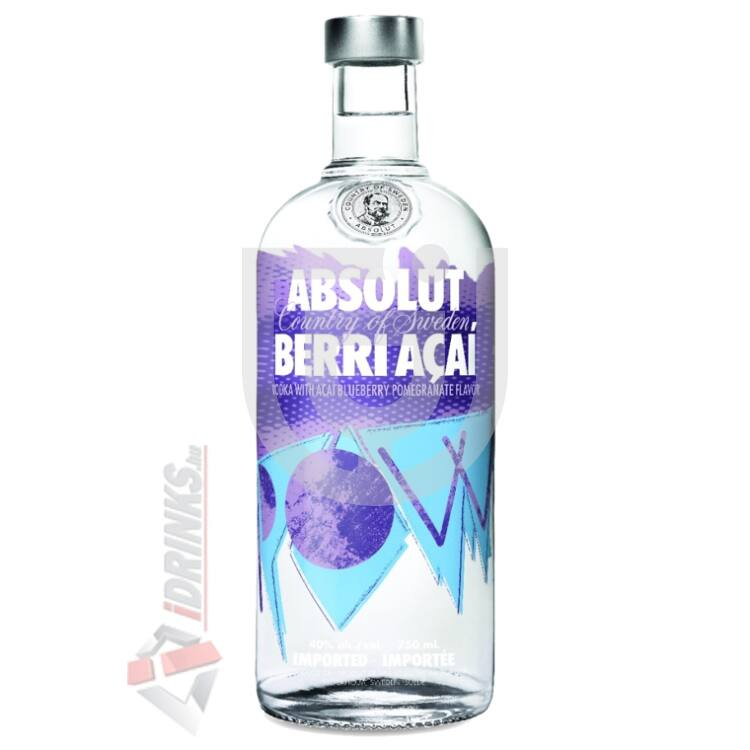 Absolut Acai Berri Vodka [0,7L|40%]