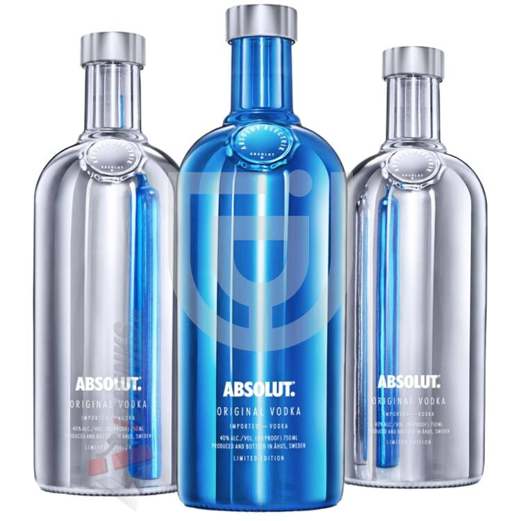 Absolut Electrik Vodka [0,7L|40%]