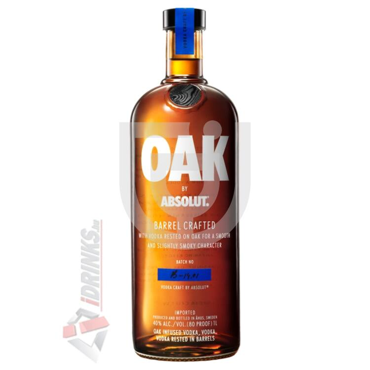 Absolut Oak Barrel Crafted Vodka [1L|40%]
