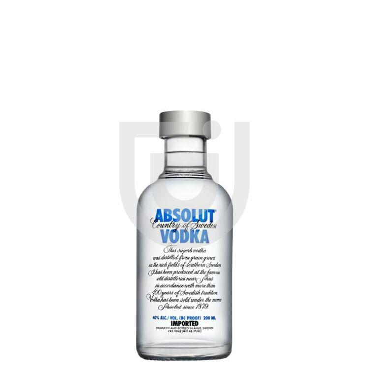 Absolut Blue Vodka Midi [0,2L|40%]