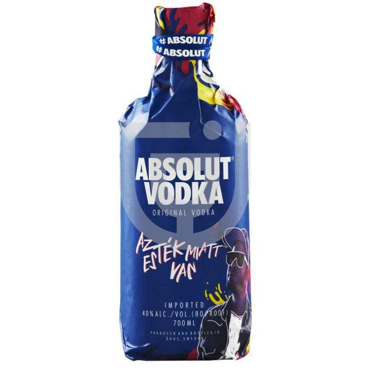 Absolut Blue Vodka Fluor Limited Edition [0,7L 40%]