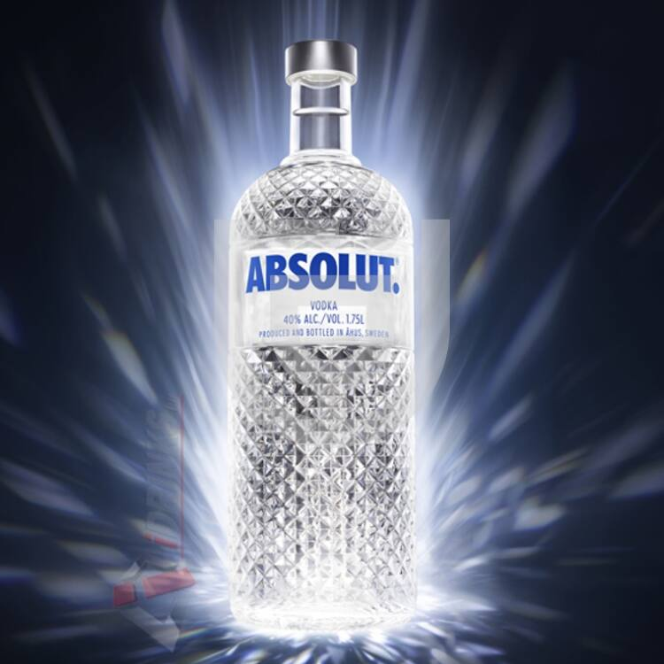 Absolut Blue Vodka Night Bottle [1,75L|40%]