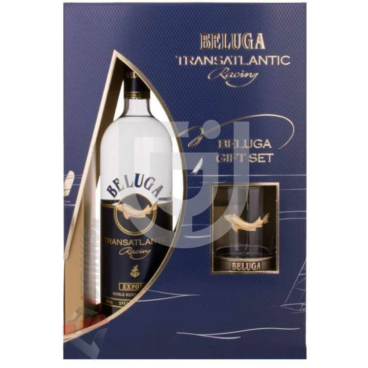 Beluga Transatlantic Racing Vodka (DD+Pohár) [0,7L|40%]