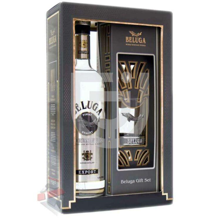 Beluga Vodka (DD+Pohár) [1L|40%]