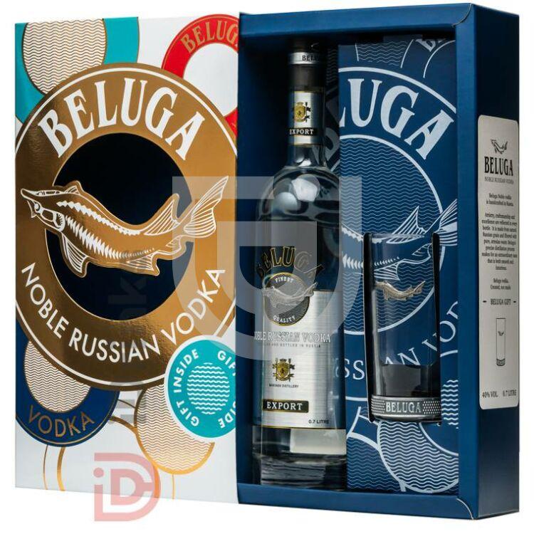 Beluga Vodka (DD+Pohár) [0,7L 40%]