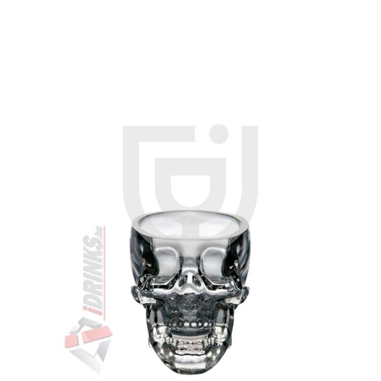 """Crystal Head Vodka """"Skull"""" Shotglass"""