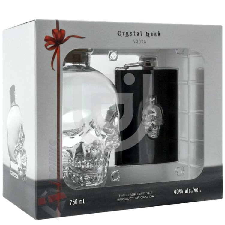 Crystal Head Vodka (DD+Flaska) [0,7L|40%]