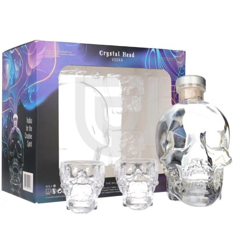 Crystal Head Vodka (DD+4 Pohár) [0,7L 40%]