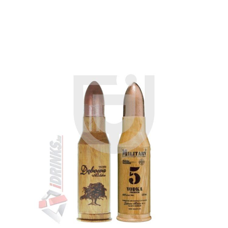Debowa Military Vodka Mini [0,05L|40%]