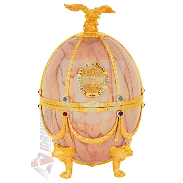 "Imperial Collection Faberge Egg  ""Onyx disagne"" Vodka [0,7L