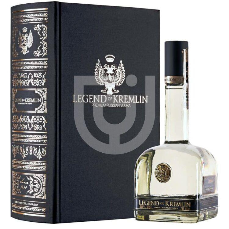 Legend of Kremlin Black Book Edition Vodka (DD) [0,7L 40%]