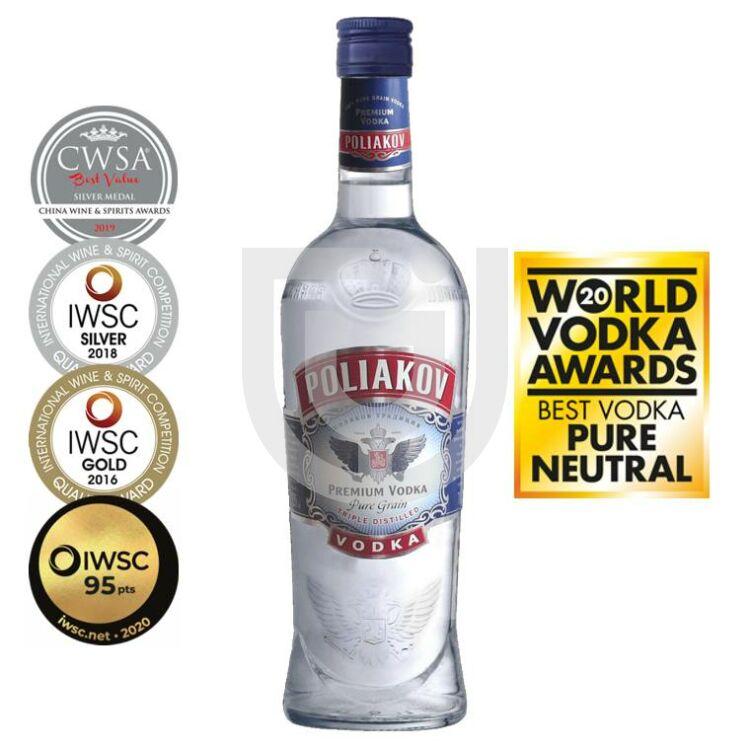 Poliakov Vodka [0,7L 37,5%]