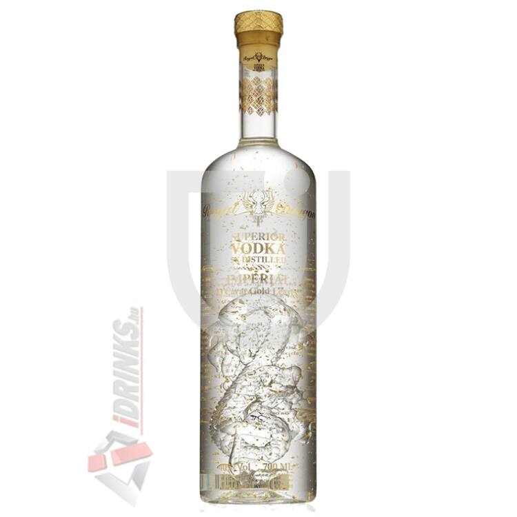 Royal Dragon Imperial Gold /aranypelyhes/ Vodka [1L|40%]