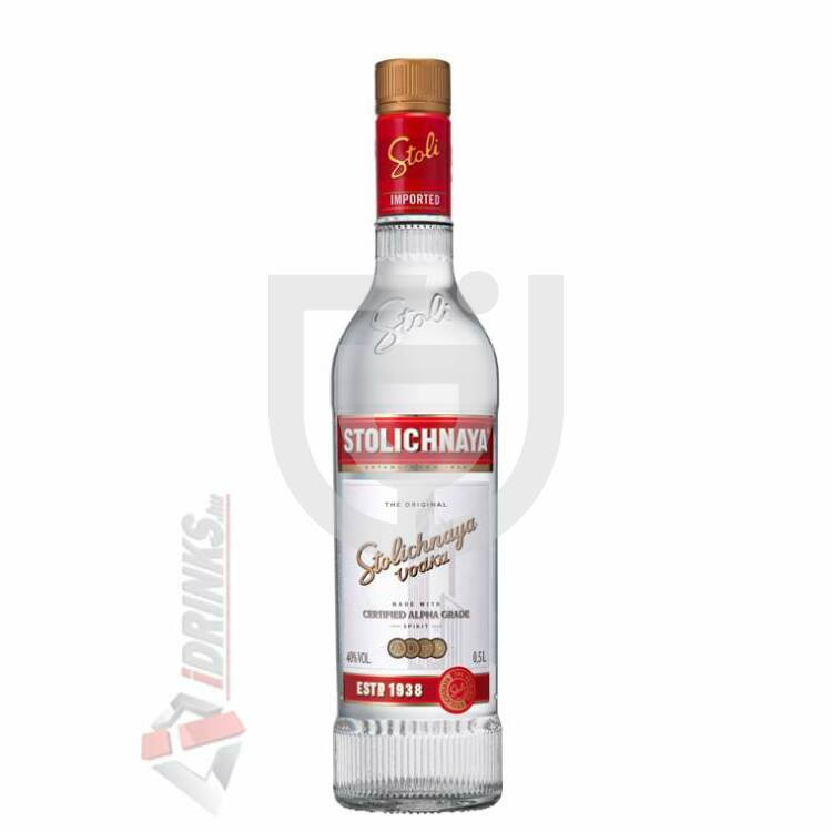 Stolichnaya Vodka [0,5L 40%]