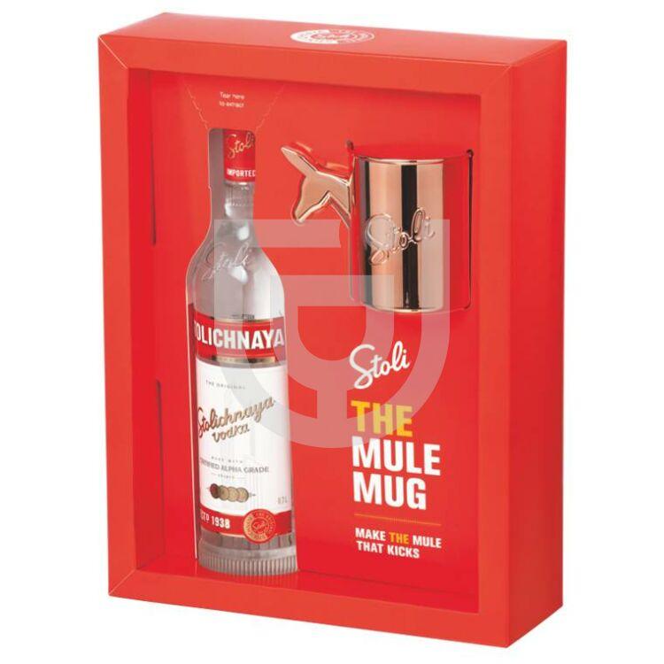 Stolichnaya Vodka (DD+Mule Bögre) [0,7L 40%]
